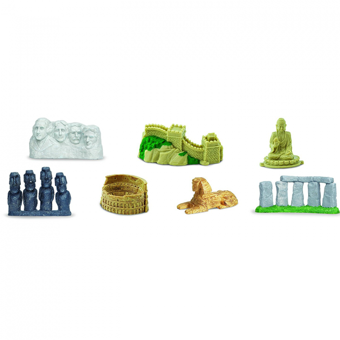 Obiective turistice - Set 7 figurine