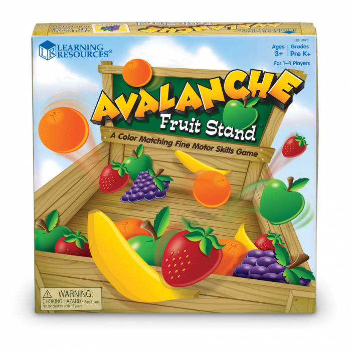 Avalansa de fructe - set educativ