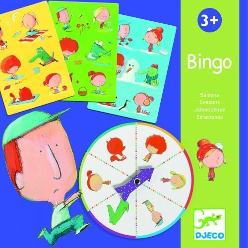 Bingo anotimpuri - Joc de asociere