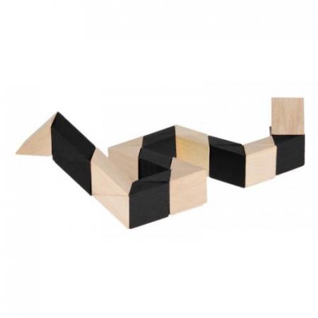 Sarpele de lemn - joc logic