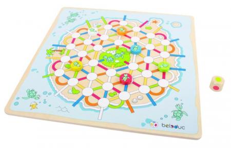 Set 2 jocuri - Nu te supara frate si Insula Testoaselor - marca Beleduc