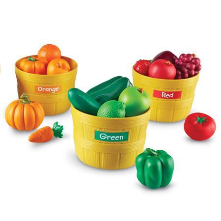 Farmer's Market - Fructele Fermierului - Set sortare culori