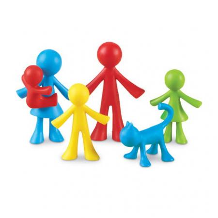 Set 24 de figurine - Familia mea