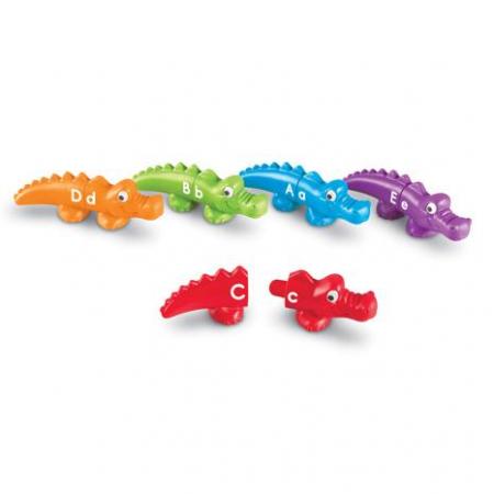 Aligatorii pereche - Set alfabet