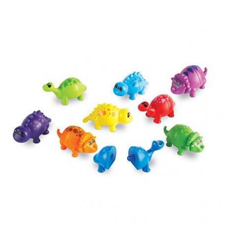 Dinozauri pereche - Set sorteaza si cupleaza
