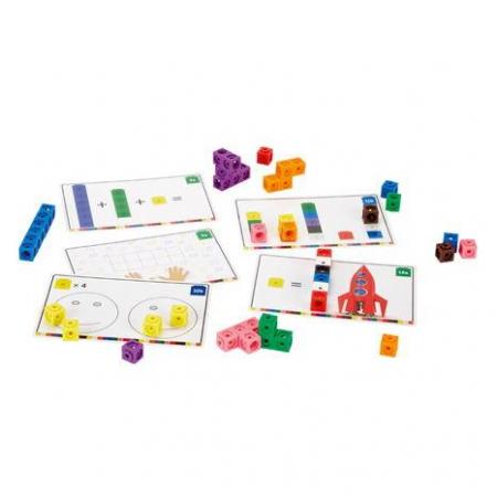 Cuburi interconectabile - Set activitati matematica
