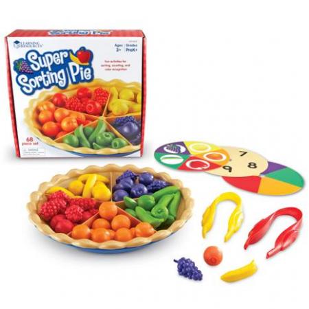 Placinta sortare - Sorting Pie - set educativ