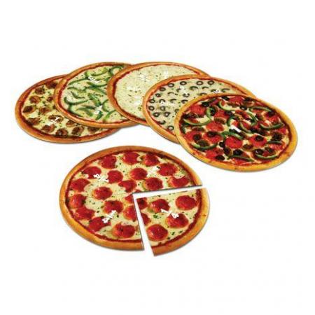 Feli de pizza magnetice - Sa invatam fractiile