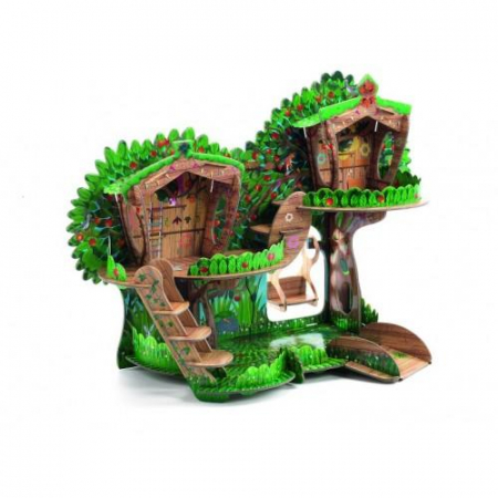 Macheta 3D - Casuta din copac