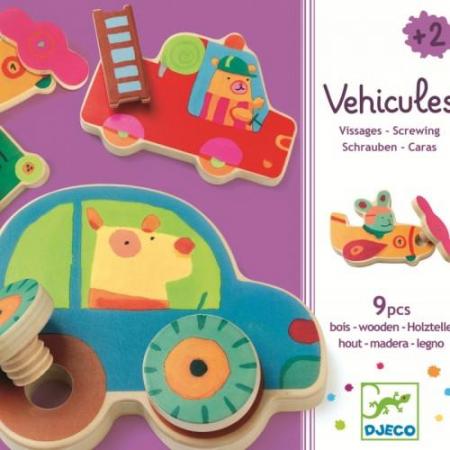 Vehicule de asamblat Djeco
