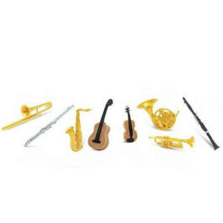 Instrumente muzicale - Safari Toob - Set 8 figurine
