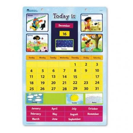 Calendar magnetic cu ghid de activitati