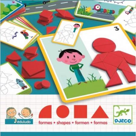 Eduludo - joc cu forme geometrice