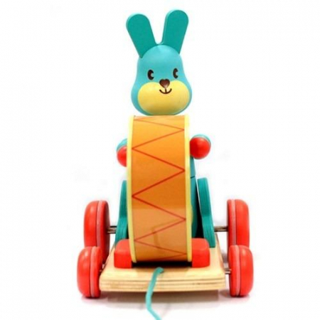 Iepurasul Bunny boum - Jucarie de tras