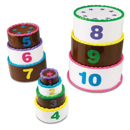 Aranjeaza si numara - set tort pe etaje