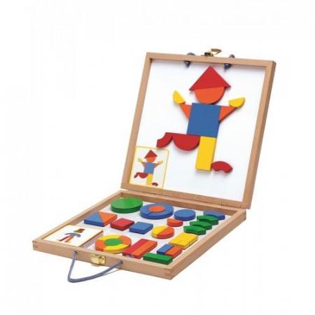 Geoforme - joc de creatie cu magneti