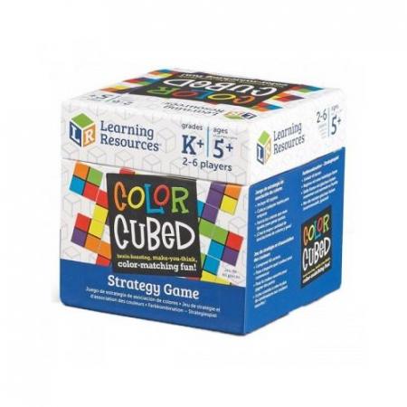 Color cubed - set educativ de strategie