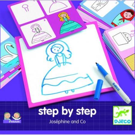 Deseneaza pas cu pas - Editie pentru fete