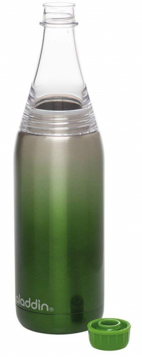 Sticla verde 600 ml Fresco Twist&Go-big