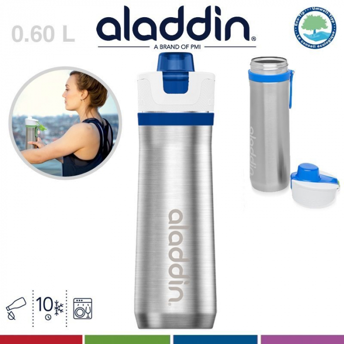 Termos albastru 600 ml Active Hydration-big