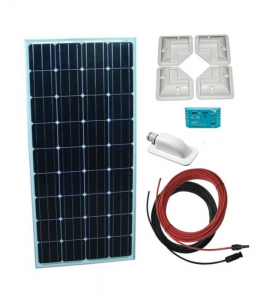 Sistem fotovoltaic 12 V rulota