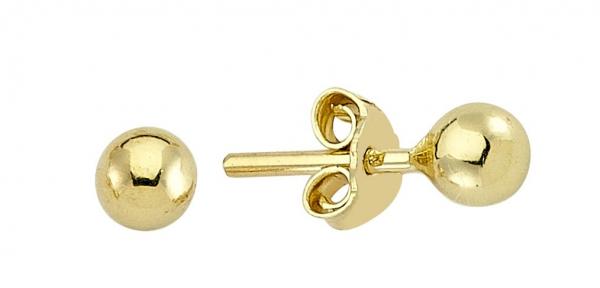 Cercei aur galben bobite - DA237