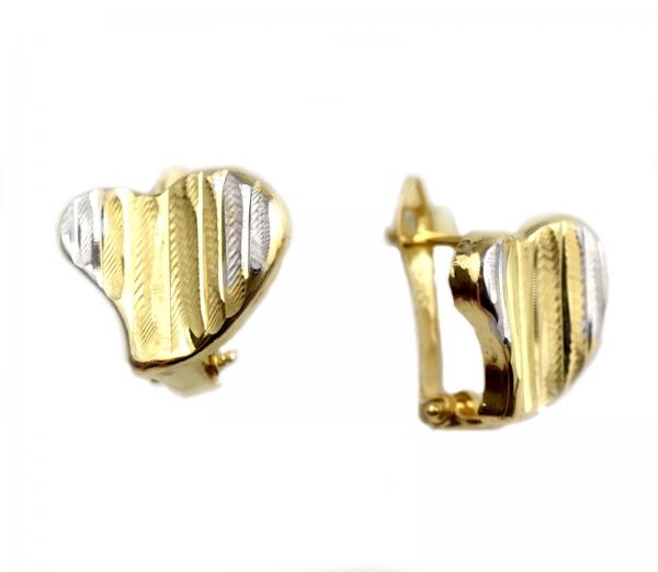 Cercei aur inimioare - DA14