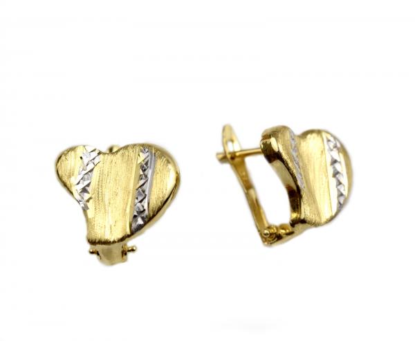 Cercei aur inimioare - DA41