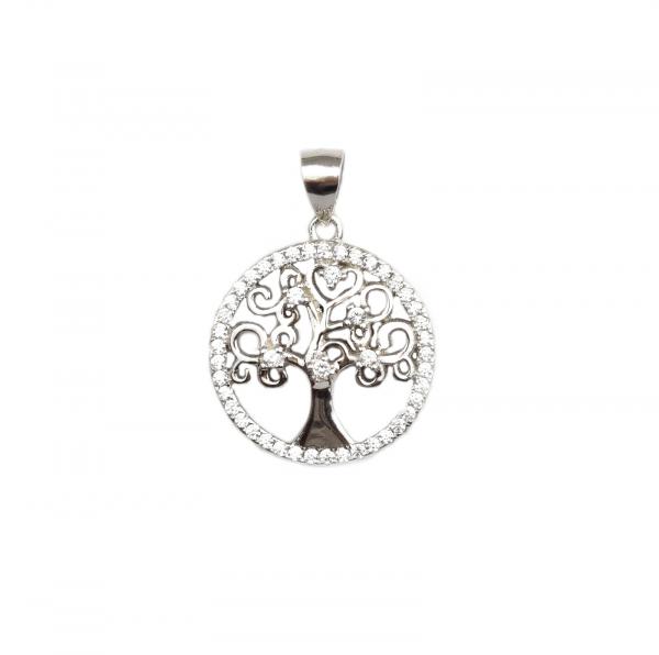 Pandant argint model copacul vietii - DA98