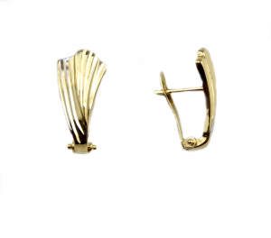 Cercei aur forma frunza - DA50