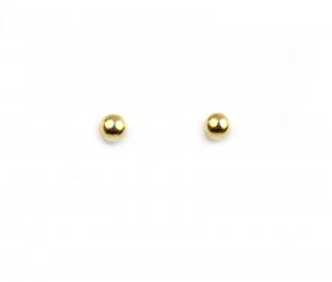 Cercei aur galben bobite - DA44