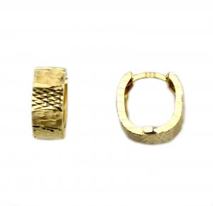Cercei aur galben lati - DA43