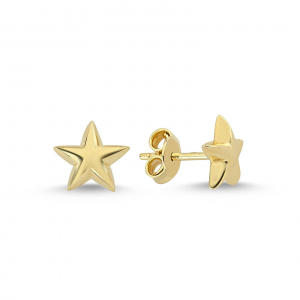 Cercei aur galben stelute - DA229