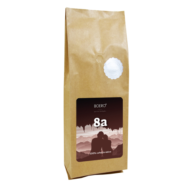 8a, cafea boabe proaspat prajita Boero, 1 kg