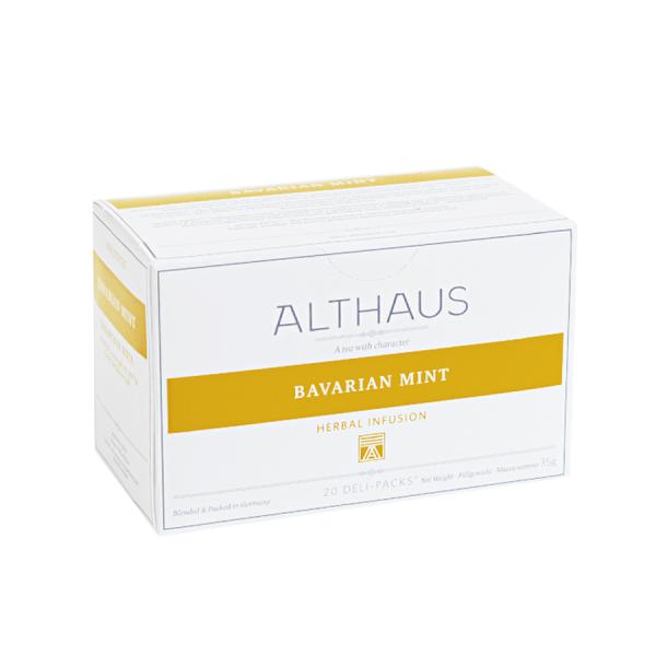 Bavarian Mint, ceai Althaus Deli Packs