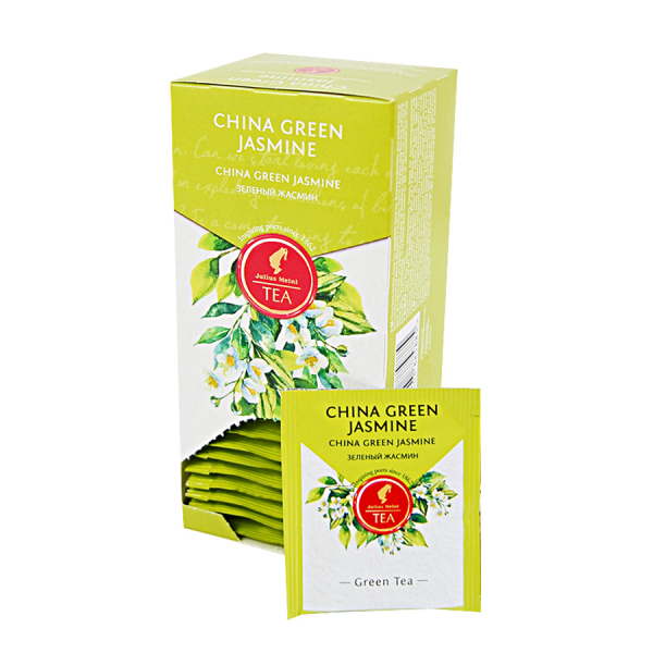 China Green Jasmine, ceai Julius Meinl - 25 plicuri