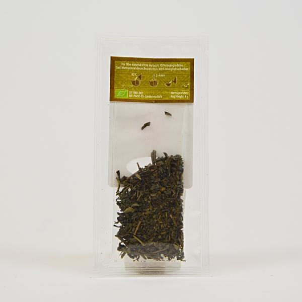 China Green Pure Chun Mee, ceai organic Julius Meinl, Big Bags