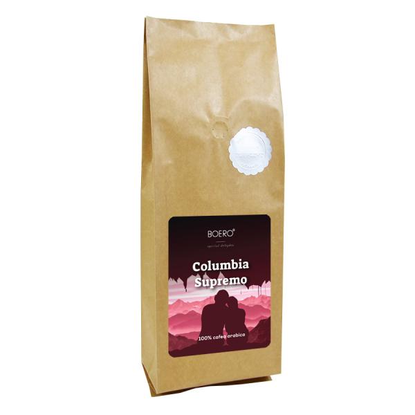 Columbia Supremo, cafea macinata proaspat prajita Boero, 1 kg