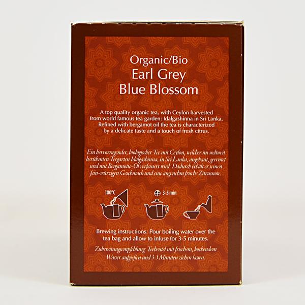 Earl Grey Blue Blossom, ceai organic Julius Meinl, Big Bags