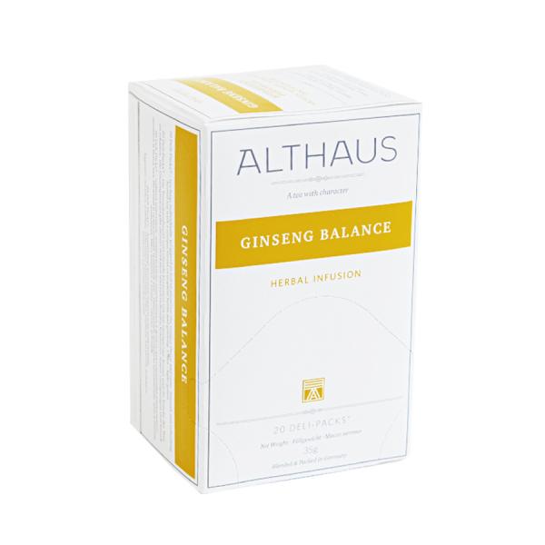 Ginseng Balance, ceai Althaus Deli Packs