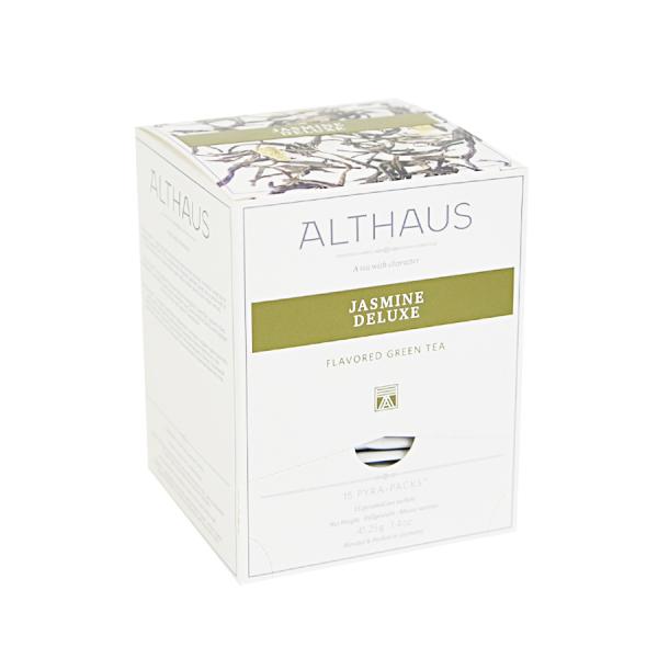 Jasmine Deluxe, ceai Althaus Pyra Packs