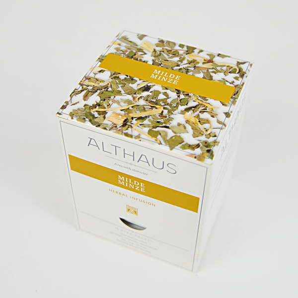 Milde Minze, ceai Althaus Pyra Packs