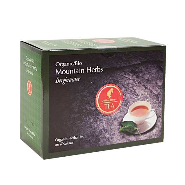 Mountain Herbs, ceai organic Julius Meinl, Big Bags