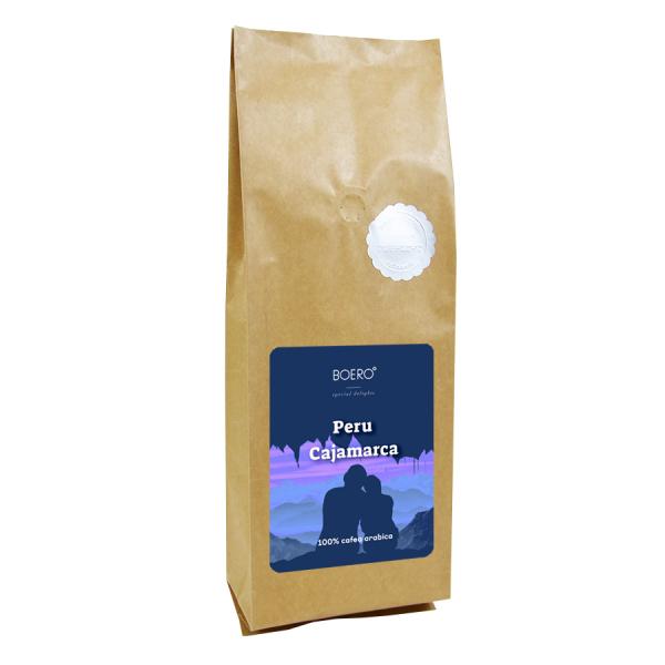 Peru Cajamarca, cafea boabe proaspat prajita Boero, 1 kg