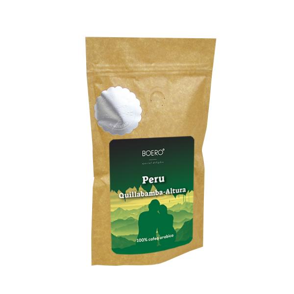 Peru Altura, cafea boabe proaspat prajita Boero, 100 grame