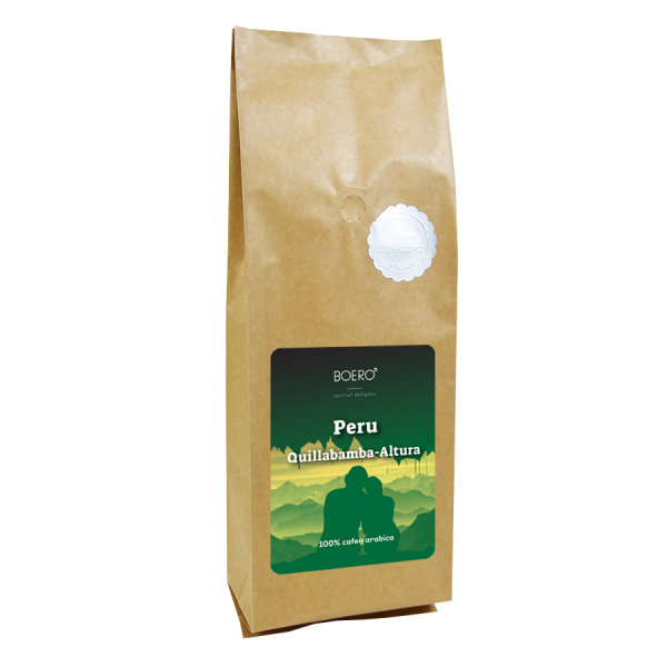 Peru Altura, cafea boabe proaspat prajita Boero, 1 kg