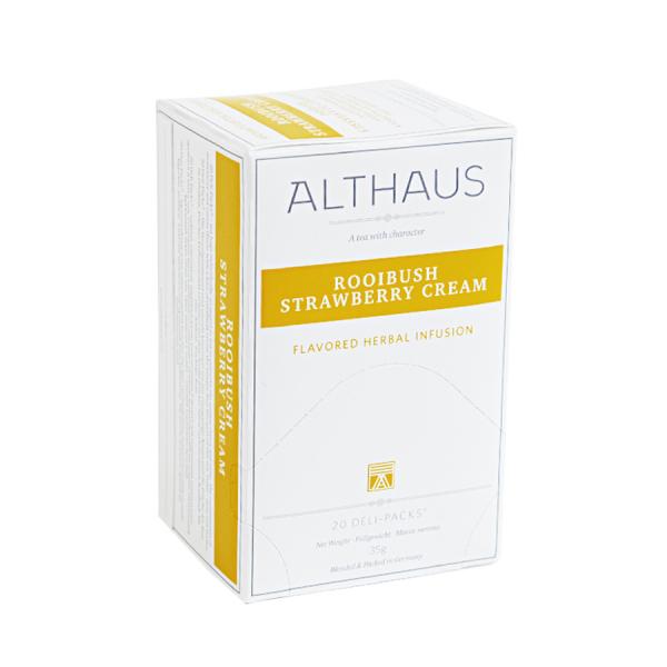 Rooibush Strawberry Cream, ceai Althaus Deli Packs