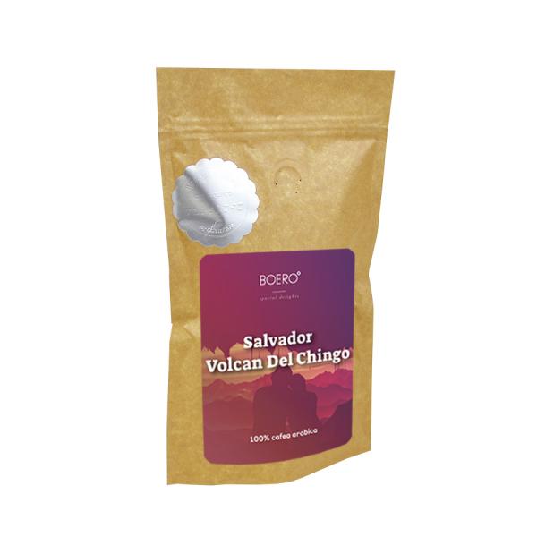 Salvador Volcan del Chingo, cafea boabe proaspat prajita Boero, 100 grame