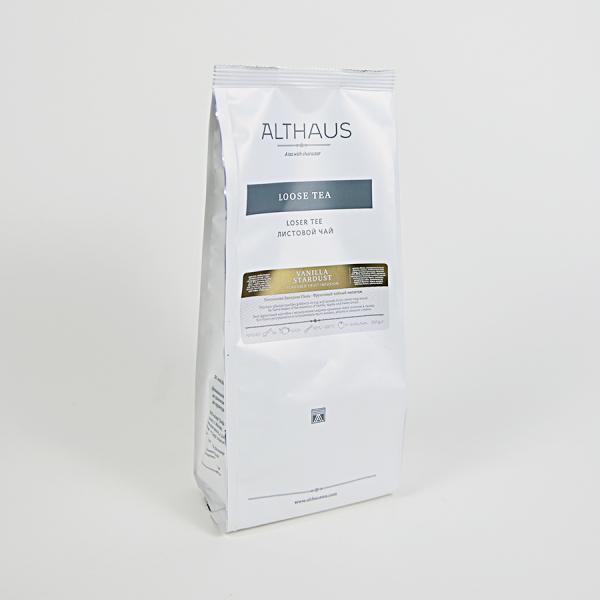 Vanilla Stardust, ceai Althaus Loose Tea, 200 grame