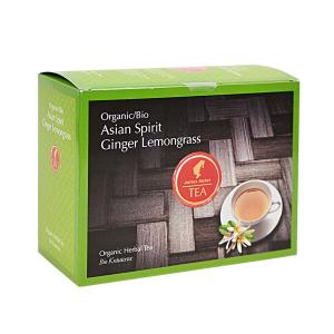 Asian Spirit Ginger Lemongrass, ceai organic Julius Meinl, Big Bags